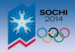 Banner of Olympics 2014 in Sochi