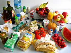 Food preparation when cooking