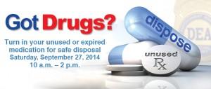Rx Drug Take-Back Day 2014