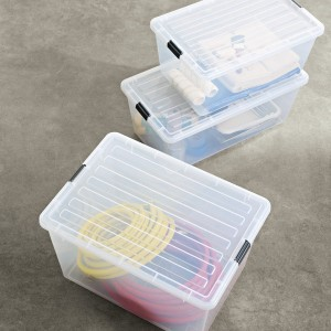 Clear Storage Tote